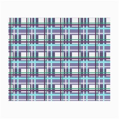 Decorative Plaid Pattern Small Glasses Cloth by Valentinaart