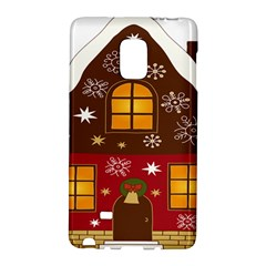 Christmas House Clipart Galaxy Note Edge by Onesevenart