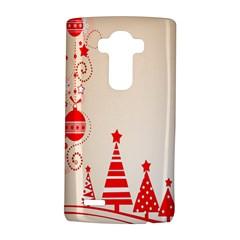 Christmas Clipart Wallpaper LG G4 Hardshell Case by Onesevenart