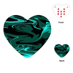 Hauntedlagoon Playing Cards (heart)  by designsbyamerianna