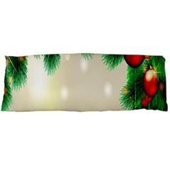 Ornament Christmast Pattern Body Pillow Case (dakimakura) by Onesevenart