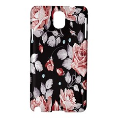 Vintage Colorful Flower  Samsung Galaxy Note 3 N9005 Hardshell Case by Brittlevirginclothing