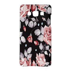 Vintage Colorful Flower  Samsung Galaxy A5 Hardshell Case  by Brittlevirginclothing