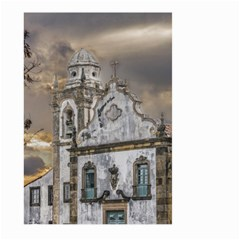 Exterior Facade Antique Colonial Church Olinda Brazil Large Garden Flag (two Sides) by dflcprints