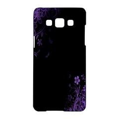 Beautiful Lila Flower  Samsung Galaxy A5 Hardshell Case  by Brittlevirginclothing
