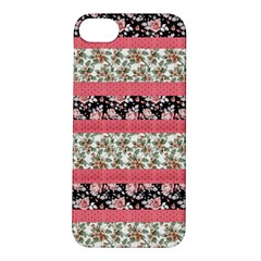 Cute Flower Pattern Apple Iphone 5s/ Se Hardshell Case by Brittlevirginclothing