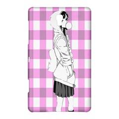 Cute Anime Girl  Samsung Galaxy Tab S (8 4 ) Hardshell Case  by Brittlevirginclothing