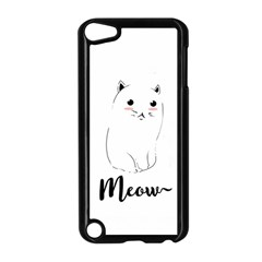 Cute Kitty  Apple iPod Touch 5 Case (Black) by Brittlevirginclothing