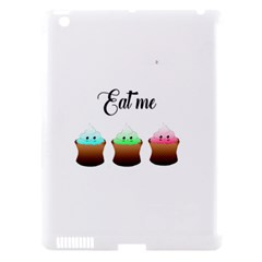 Eat Me Cupcakes Apple Ipad 3/4 Hardshell Case (compatible With Smart Cover) by Brittlevirginclothing