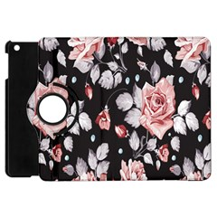 Vintage Flower  Apple Ipad Mini Flip 360 Case by Brittlevirginclothing