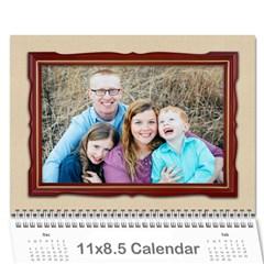Calendar 2017  Finished By Mandy Morford   Wall Calendar 11  X 8 5  (12 Months)   R2untrznz2e8   Www Artscow Com Cover