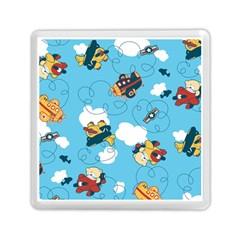 Bear Aircraft Memory Card Reader (Square)  by AnjaniArt