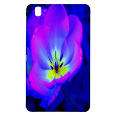 Blue And Purple Flowers Samsung Galaxy Tab Pro 8 4 Hardshell Case by AnjaniArt