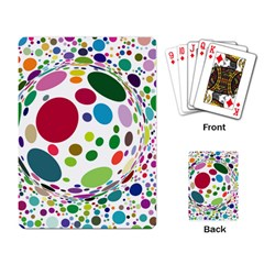 Color Balls Playing Card by AnjaniArt