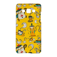 Caffe Break Tea Samsung Galaxy A5 Hardshell Case  by AnjaniArt