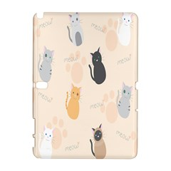 Cute Cat Meow Animals Galaxy Note 1 by AnjaniArt