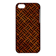 Woven2 Black Marble & Brown Marble (r) Apple Iphone 5c Hardshell Case by trendistuff