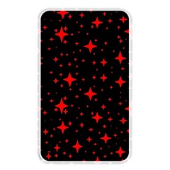 Bright Red Stars In Space Memory Card Reader by Costasonlineshop