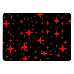 Bright Red Stars In Space Samsung Galaxy Tab 8 9  P7300 Flip Case by Costasonlineshop