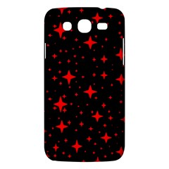 Bright Red Stars In Space Samsung Galaxy Mega 5.8 I9152 Hardshell Case  by Costasonlineshop