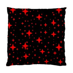 Bright Red Stars In Space Standard Cushion Case (two Sides) by Costasonlineshop