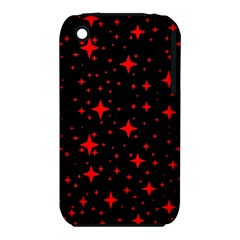 Bright Red Stars In Space Iphone 3s/3gs by Costasonlineshop