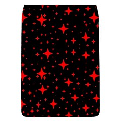 Bright Red Stars In Space Flap Covers (s)  by Costasonlineshop
