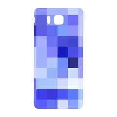 Pixie Blue Samsung Galaxy Alpha Hardshell Back Case by designsbyamerianna