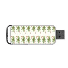 Candy Cane Printable Portable USB Flash (Two Sides) by AnjaniArt
