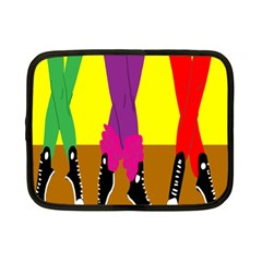 Foot Dance Netbook Case (small)  by AnjaniArt