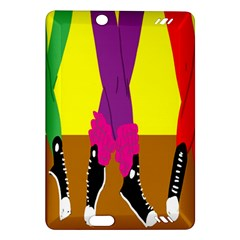 Foot Dance Amazon Kindle Fire Hd (2013) Hardshell Case by AnjaniArt