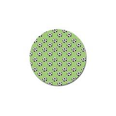 Green Ball Golf Ball Marker by AnjaniArt