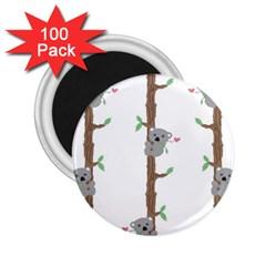 Koala Pattern 2.25  Magnets (100 pack)  by AnjaniArt