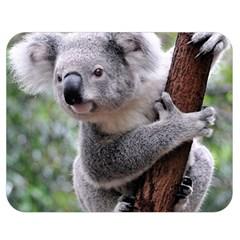 Koala Double Sided Flano Blanket (medium)  by AnjaniArt