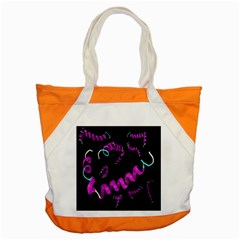 Paper Tape Accent Tote Bag by AnjaniArt