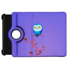 Owl Spider Kindle Fire Hd 7  by AnjaniArt