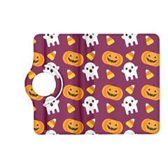 Pumpkin Ghost Canddy Helloween Kindle Fire Hd (2013) Flip 360 Case by AnjaniArt