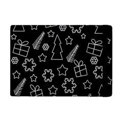 Simple Xmas Pattern Apple Ipad Mini Flip Case by Valentinaart