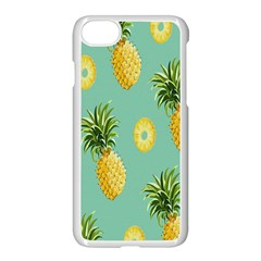 Pineapple Apple iPhone 7 Seamless Case (White) by AnjaniArt