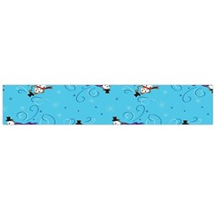 Snowman Flano Scarf (large) by AnjaniArt