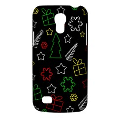 Colorful Xmas Pattern Galaxy S4 Mini by Valentinaart
