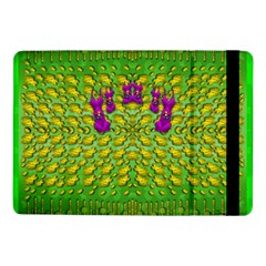 Flowers And Yoga In The Wind Samsung Galaxy Tab Pro 10 1  Flip Case by pepitasart