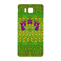 Flowers And Yoga In The Wind Samsung Galaxy Alpha Hardshell Back Case by pepitasart