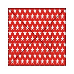 Star Christmas Advent Structure Acrylic Tangram Puzzle (6  x 6 ) by Zeze