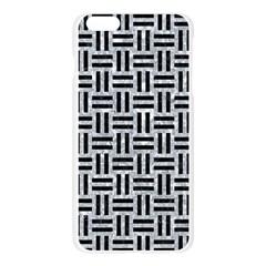 WOV1 BK-GY MARBLE (R) Apple Seamless iPhone 6 Plus/6S Plus Case (Transparent) by trendistuff