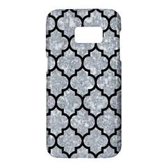 Tile1 Black Marble & Gray Marble (r) Samsung Galaxy S7 Hardshell Case