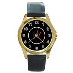 Twenty One Pilots Band Logo Round Gold Metal Watch by Onesevenart