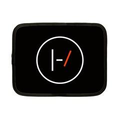 Twenty One Pilots Band Logo Netbook Case (small)  by Onesevenart