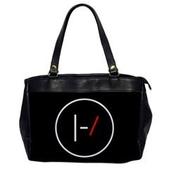 Twenty One Pilots Band Logo Office Handbags by Onesevenart