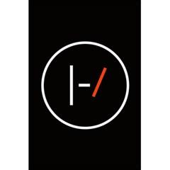 Twenty One Pilots Band Logo 5 5  X 8 5  Notebooks by Onesevenart